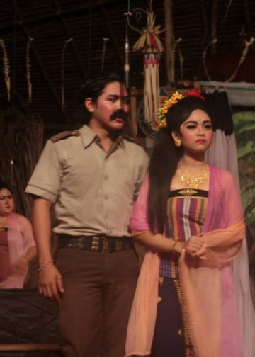 Salah satu drama gong gaya Buleleng #Foto: koleksi penulis