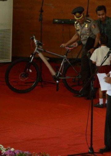 Presiden Jokowi di Gedung Kesenian Singaraja. Foto: PM
