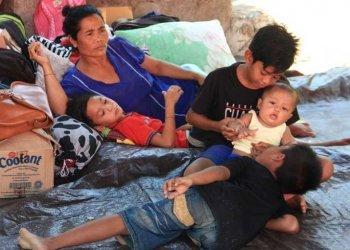 Pengungsi Pulang Ditunggu Utang