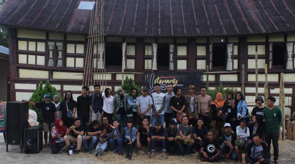Sastrawan peserta Payokumbuah Literary Festival', 14-16 November 2018,