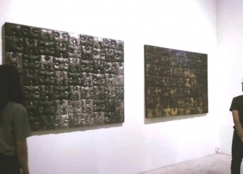 "Pameran ""Blackscape Series Gus Sindu"" di Yogyakarta"