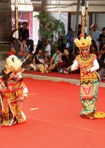 Wayang wong SMKN 4 Bangli (Foto: Widnyana Sudibya)