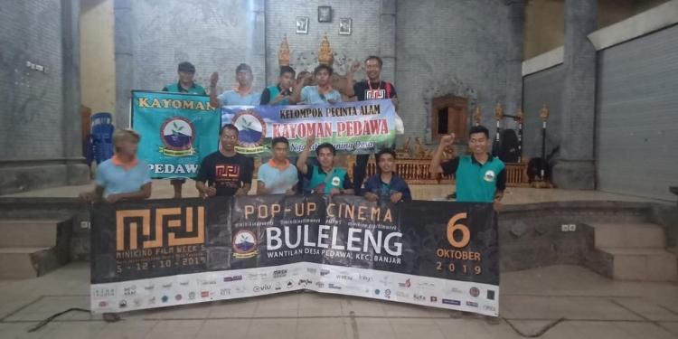 Minikino Film Week #5 di Wantilan Desa Pedawa, Buleleng