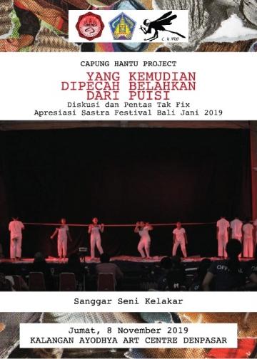 Sanggar Seni Kelakar di Festival Seni Bali Jani