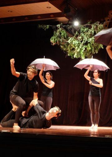 Foto: Pementasan teater Komunitas Mahima