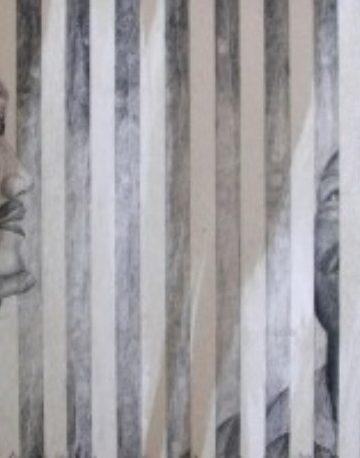 Wayan Redika, Aku Tetap Lebih Buruk, 2004. Charcoal on Paper, 50x70cm