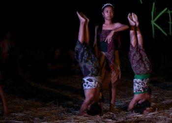 Pementasan Dongeng Tantri dari Bumi Bajra Sandhi di Festival ke Uma, Sabtu 24 Juni 2017./ Foto-foto: Kardian Narayana