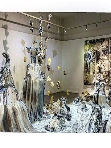 Nyoman Erawan #COMIC DANCE #3#2016#600cmx600cmx600cm#mixed Media#Installation Art