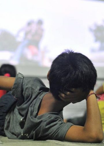Penonton film pada acara Minikino Film Week 3. /Foto-foto: Minikino