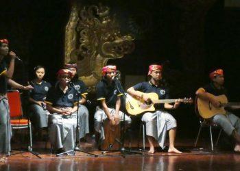 Komunitas Teratai di Taman Budaya Denpasar