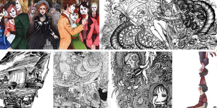 Karya-karya pameran Place yang digelar Undiksha Singaraja