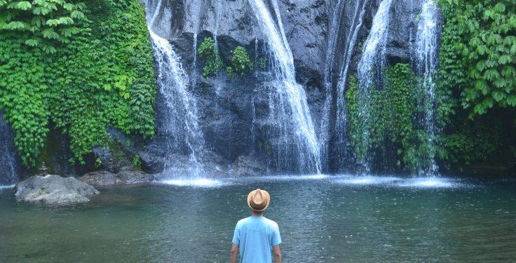 Defining Tranquility at Banyumala Waterfall