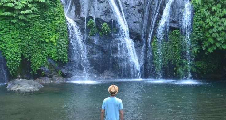 Defining Tranquility at Banyumala Waterfall