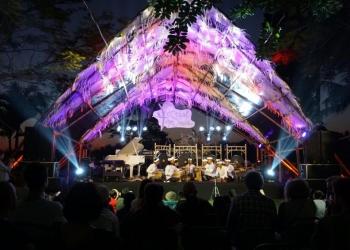 Sanggar Ceraken, Batubulan di Festival Tepi Sawah. (Foto: Istimewa)