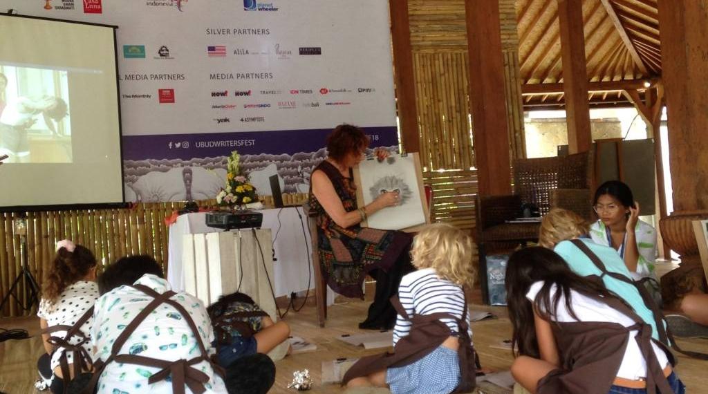 Anne Spudvilas di Ubud Writers and Readers Festival 2018