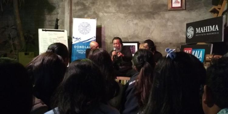 Workshop bersama Afrizal dan Samar Gantang di Rumah Belajar Komunitas Mahima