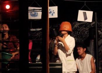 Teater Galang Kangin SMAN 4 Singaraja dalam Parade Teater Canasta 2018