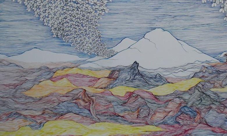 Lukisan Kabul Suasana (croping)