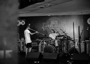 Rhythm Rebels, band yang berasal dari Pulau Dewata ini, sukses tampil di hari pertama Java Jazz Festival yang diselenggarakan di Kemayoran Jakarta pada tanggal 1 – 3 Maret 2019. (Foto: Yulinar Rusman)