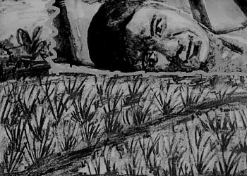 Ilustrasi diolah dari lukisan Komang Astiari dan IB Pandit Parastu