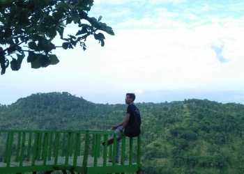 Pesona alam Bukit Arak-Arak, Bondowoso (Dokumentasi: Mochamad Rifa'i)