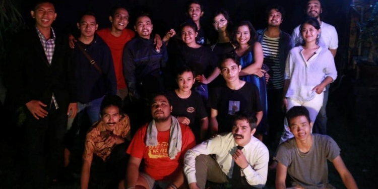 Komunitas Senja yang akan pentas Sang Guru di Taman Budaya Denpasar