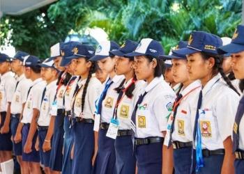 Calon siswa SMAN Bali Mandara dari berbagai tamatan SMP di Bali ikuti bootcamp dengan penuh asa