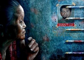 Lukisan figur: Wayan Redika (wayanredika.com)
