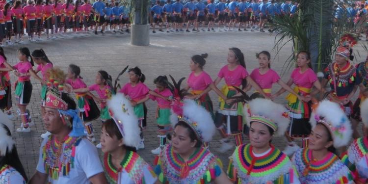 """Ritual festival panen tahunan yang disebut  """"Ki'lomaan"""" di Taiwan Timur. [Foto: Ratu Selvi Agnesia]"""