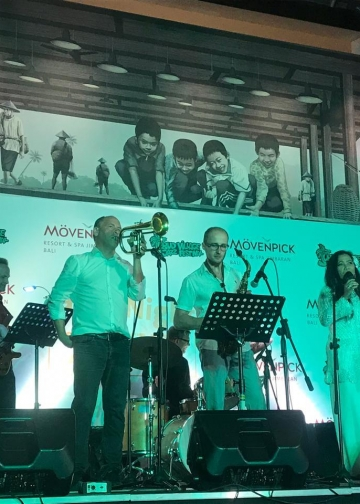 Pre-Event Ubud Village Jazz Festival (UVJF) 2019 di Movenpick Resort & Spa