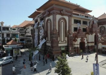 Pasar Badung sebagai tempat Festival Rakyat Denpasar 2019