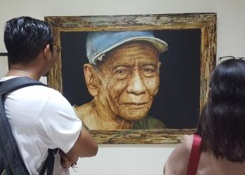 Pameran seni rupa karya dosen Undiksha Singaraja