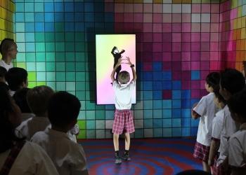 Kunjungan siswa sekolah dasar ke ART BALI [Foto: Art Bali]