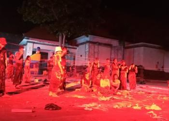 Pementasan Bali Eksperimental Teater di Pelabuhan Buleleng