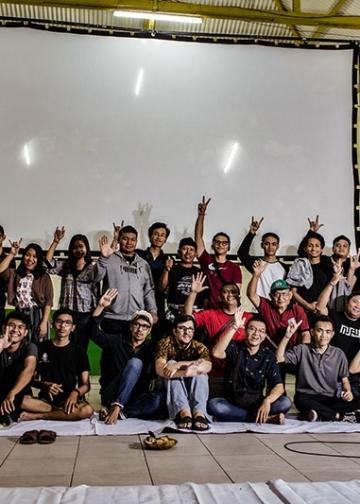 Minikino Open December ke-17: Layar Tancep di Desa Padangsambian Kaja, Meriah dan Mendidik