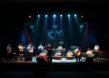 Kolaborasi Sambasunda dan Mohram music, [dokumentasi ICAS 2019 herfan rusando]