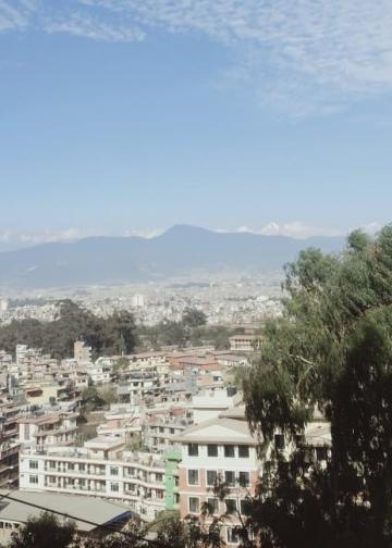 Pemandangan di Nepal (Foto Sonia)
