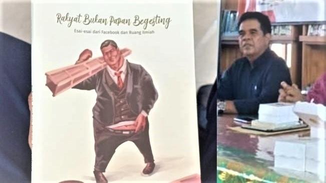 Buku Rakyat Bukan Papan Begesting dan penulisnya, Gde Made Metera