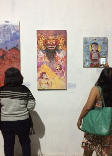 "Pameran Anala Collective ""Illegal Trade"" di Kulidan Kitchen & Space, Jalan Garuda Wisnu, Sukawati, Gianyar, Bali, 29 Desember hingga 5 Januari 2020."