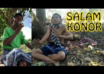Konor (kiri) Dieksplor dalam Video (Youtube).  Sumber foto:pokelagu.com